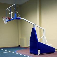 Стойка баскетбольная профессиональная мобильная складная вынос 2,25м. «ATLET 225»