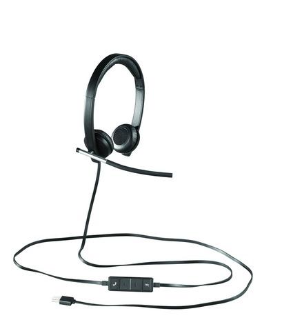 LOGITECH H650e Dual USB Wired Headset [112025]