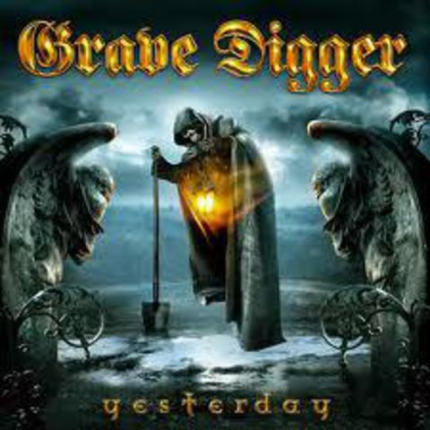 GRAVE DIGGER   YESTERDAY (single)  2006