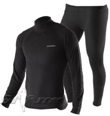 Комплект термобелья Noname Arctos Underwear Black