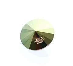 1122 Rivoli Ювелирные стразы Сваровски Crystal Iridescent Green (12 мм)