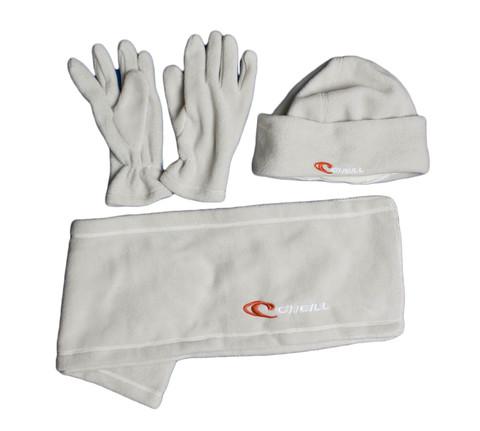 Комплект O`Neill шарф+шапка+перчатки флис