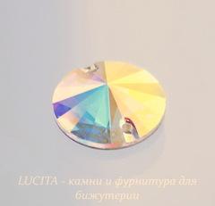 3200 Пришивные стразы Сваровски риволи Crystal AB (14 мм)