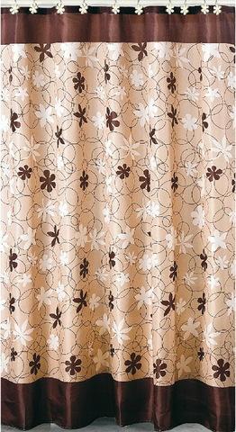 Элитная шторка для ванной Karen от Carnation Home Fashions
