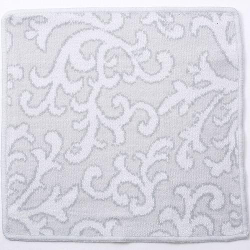 Элитная салфетка шенилловая Arabeske 210 silber от Feiler