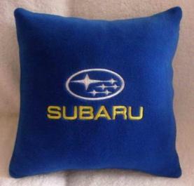 Подушка автомобильная с логотипом SUBARU