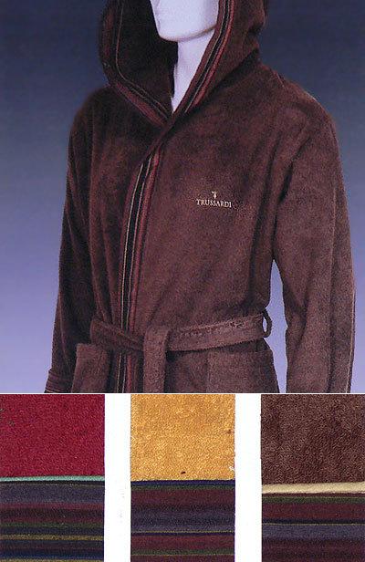 Элитный халат махровый Man от Trussardi