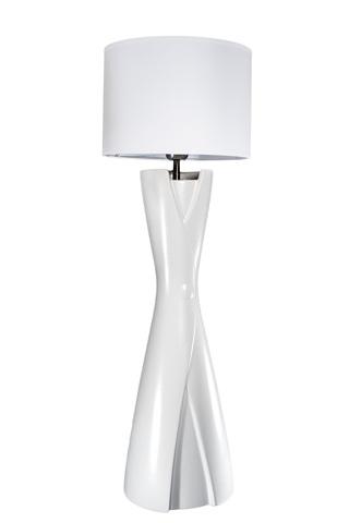 Элитная лампа настольная белая Канису от Sporvil