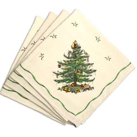 Элитные салфетки Spode Christmas Tree от Avanti