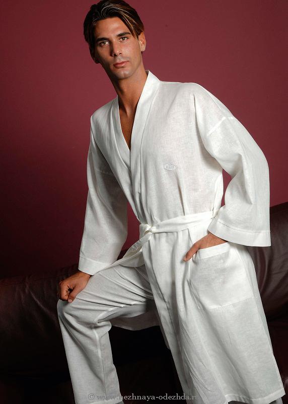 Легкий халат B&B (Мужские халаты)