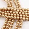 5810 Хрустальный жемчуг Сваровски Crystal Vintage Gold круглый 6 мм, 5 штук