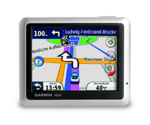 Автомобильный GPS навигатор Garmin Nuvi 1250