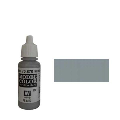 158. Краска Model Color Сероватая Морская Волна 870 (Medium Sea Grey) укрывистый, 17мл