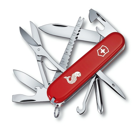 Офицерский нож Fisherman Victorinox (1.4733.72)