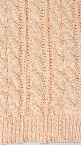Элитный плед детский Imperio 36 персиковый от Luxberry