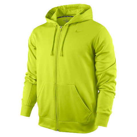 Толстовка Nike KO Full Zip Hoody 2.0 салатовая