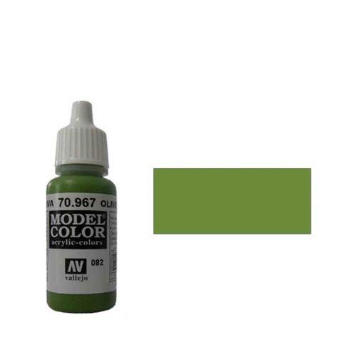 082. Краска Model Color Оливковый 967 (Olive Green) укрывистый, 17мл