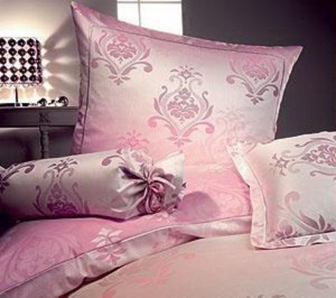 Элитная наволочка Diadem розовая от Elegante