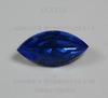 Ювелирные стразы Preciosa Sapphire (15х7 мм)