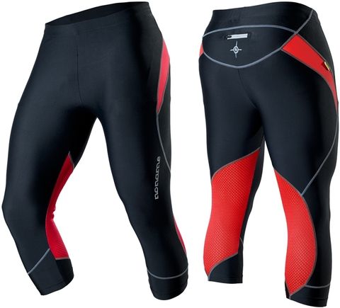 Капри Noname Capri O-Tights 2012 черно-красный