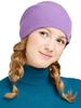 Шапка с шерстью мериноса Norveg Чулок Lavender женская
