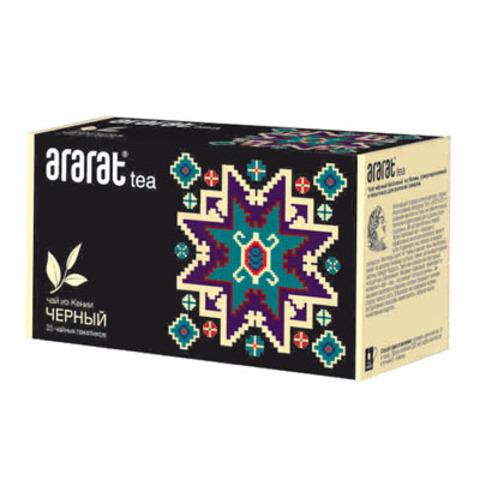 Чай Черный Байховый Арарат 25х2 гр