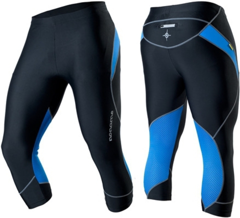 Капри Noname Capri O-Tights 2012 черно-синий