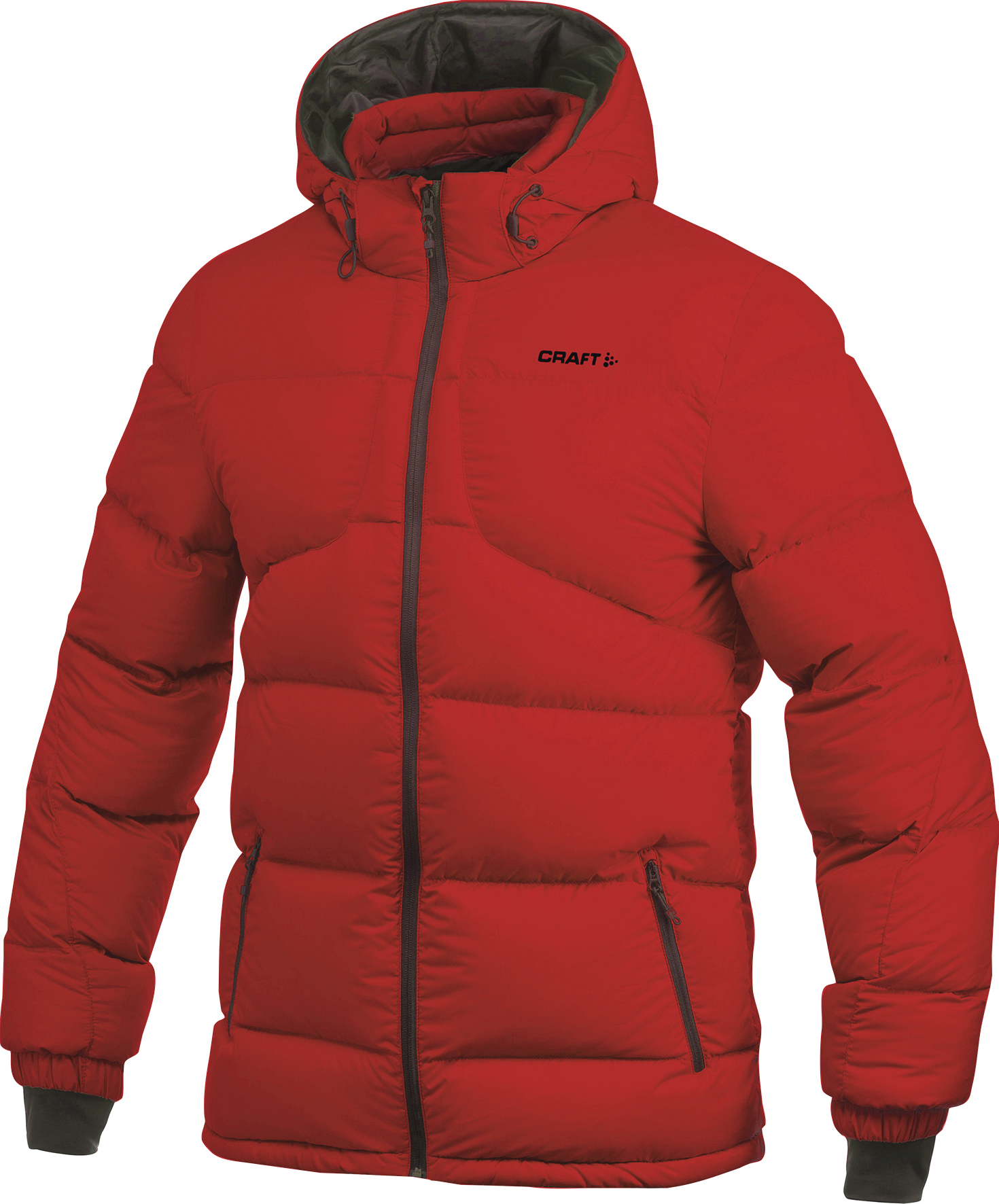 Куртка женская Craft Casual Down пуховая красная 1901855-2430