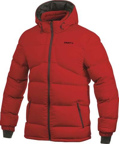 Куртка женская Craft Casual Down пуховая красная