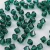 5328 Бусина - биконус Сваровски Emerald 4 мм, 10 штук ()