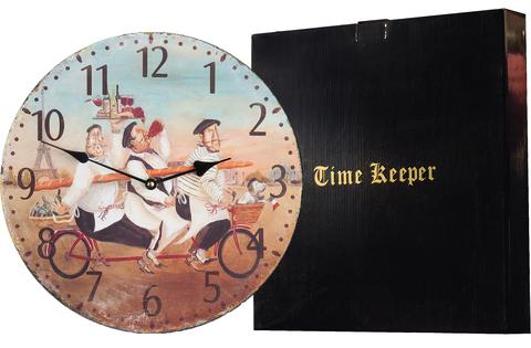 """Часы настенные """"Французские фермеры"""" Time Keeper"""