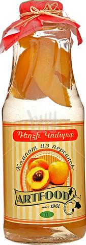 Компот Артфуд из персика,1л