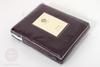 Элитный плед -покрывало Двустороннее винный-серый от Luxberry
