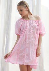 Ночная сорочка из жатого хлопка Rebecca & Bros
