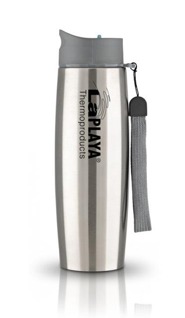 Термокружка La Playa Thermo Mug SS Strap (0.5 литра) серебристая