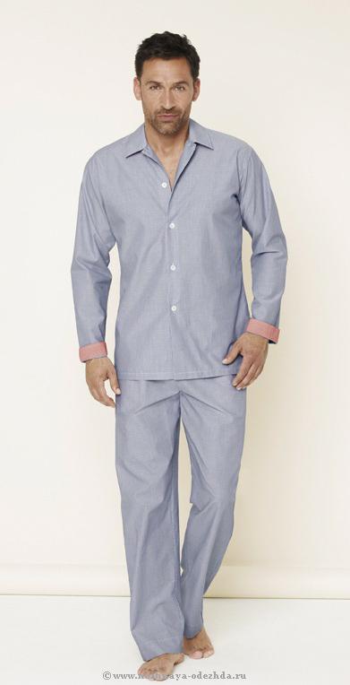 Классическая мужская пижама Zimmerli (Домашние костюмы и пижамы)