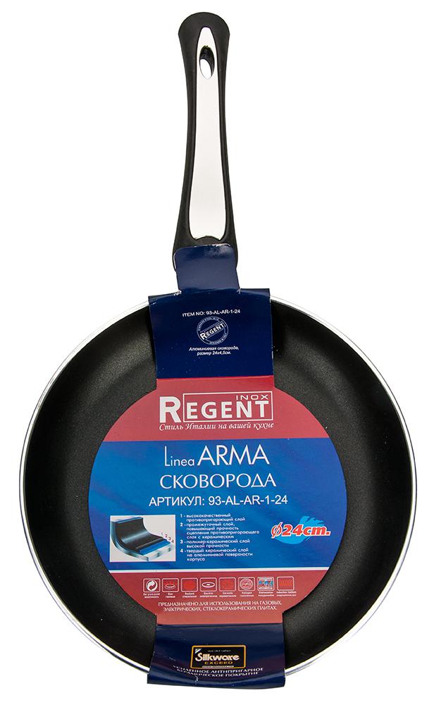 Сковорода Regent Inox Linea Ferro 26x2cm 93-FE-5-26