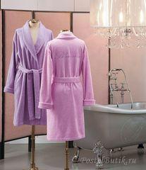 Элитный халат махровый Top Model розовый от Blumarine