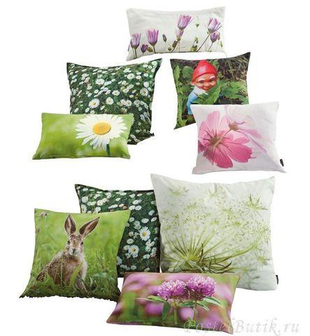 Элитная подушка декоративная Britt green от Proflax