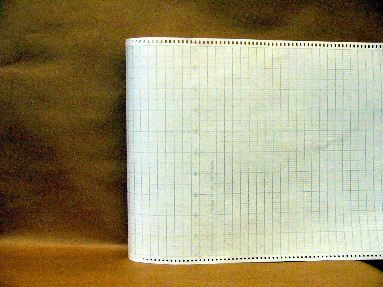 Диаграммная рулонная лента, реестровый № 3561