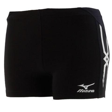 Шорты Mizuno Mid Tight 215 AW12 black беговые (женские)