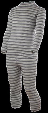 Комплект термобелья Norveg Winter детский серая полоска