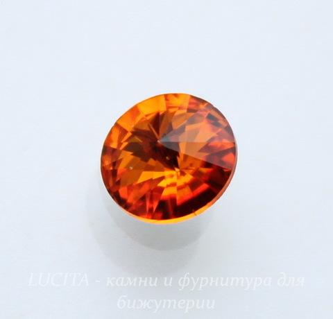 1122 Rivoli Ювелирные стразы Сваровски Tangerine (SS39) 8,16-8,41 мм