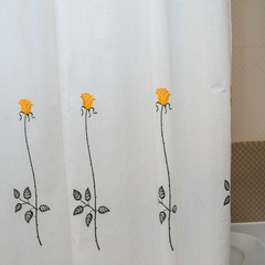 Элитная шторка для ванной Rosas C. Yellow от Arti-Deco