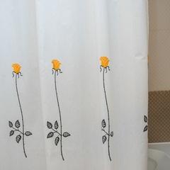 Шторка для ванной 180x200 Arti-Deco Rosas C. Yellow