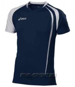 Asics T-shirt Fan Man Футболка волейбольная - купить в интернет-магазине Five-sport.ru. Фото, Описание, Гарантия.