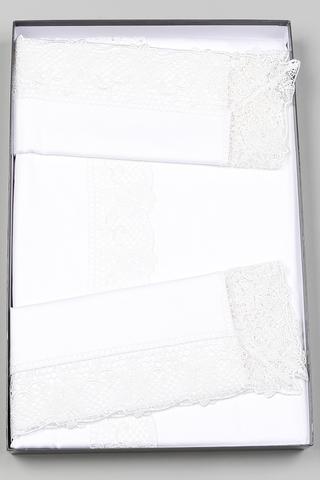 Постельное белье 2 спальное евро Carrara Lace
