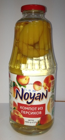 Компот Noyan из персика, 1л