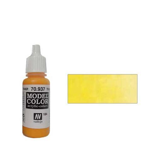 184. Краска Model Color Желтый 937 (Transparent Yellow) прозрачный, 17мл