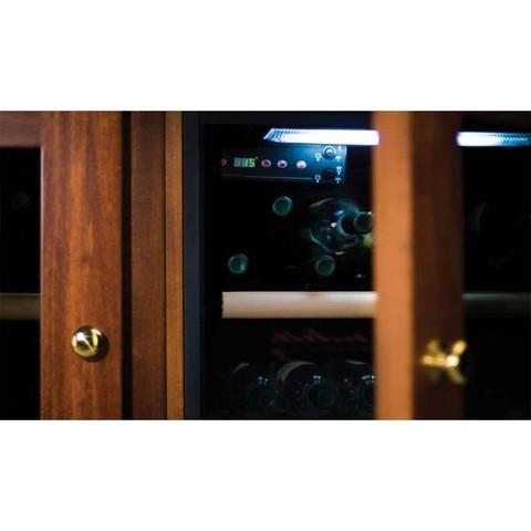 Винный шкаф IP Industrie CEX 401 LNU (орех)